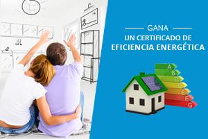 ¡Sorteo! Consigue GRATIS un Certificado de Eficiencia Energética.